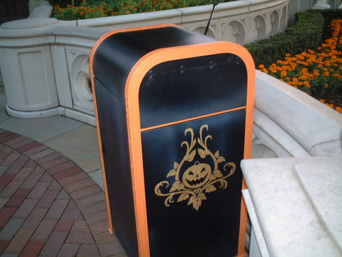 ゴミ箱 ハロウィンバージョン