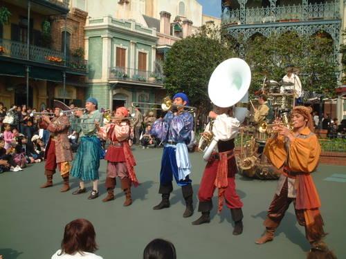 カリブの海賊前 バンド